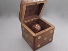 Handcrafted Dice Box - Fair Trade from India