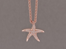 Rose Silver Starfish
