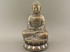 Bronze Buddha in Meditation Mudra