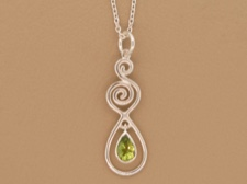 Peridot with Spirals