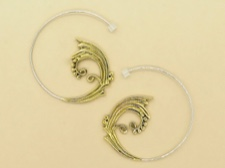 Brass Ornate Spirals