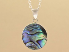 Abalone Sterling Necklace