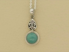 Turquoise Sterling Necklace