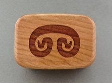 Petroglyph Keepsake Box of American Cherry