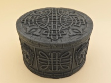 Celtic Box Intricate Celtic Knot Design
