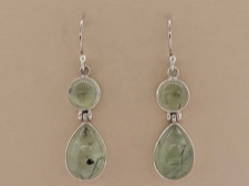 Prehnite Earrings