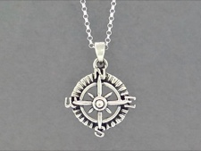 Sterling Compass Rose