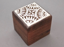 Aashiyana Star Rosewood Carved Box from India