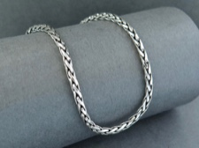 Chain, Sterling Wheat 18in