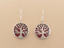 Coral Tree Earrings