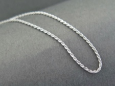 Chain, Sterling Rope 18in