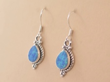 Opal Tear Earrings