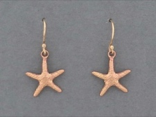 14k Rose Gold Starfish