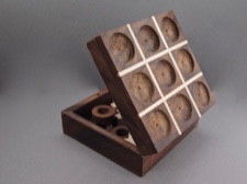 Tic Tac Toe Handmade Travel Size from India