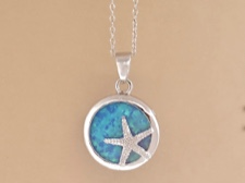 Starfish on Opal