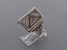 Tuareg Etched Ring