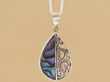 Abalone Tear Necklace