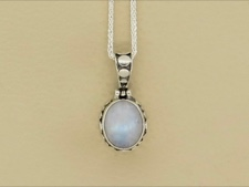 Rainbow Moonstone Oval