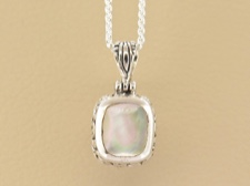Mother of Pearl Tribal Bezel