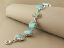 Turquoise Mixed Links