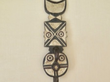 Bobo Miniature Plank Mask from Burkina Faso