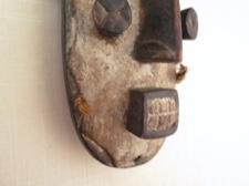Grebo Warrior Mask from Liberia West Africa