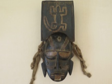 Djimini Ceremonial Fertility Mask Ivory Coast