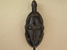 Yaoure Ceremonial Lo Mask Ivory Coast