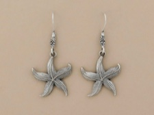 Sterling Dotted Starfish