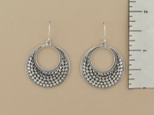Sterling Tapered Circle