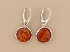 Amber Abstract Bezel