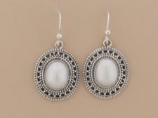 Pearl Ornate Dangles
