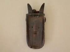 Toma Landai Initiation Mask from Guinea Africa