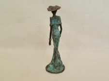Lost Wax Bronze Stylish Elegant Lady
