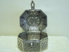 Fine Sterling Silver Handcrafted Box from India