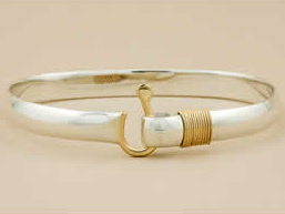 Two Tone St John Hook Bracelet from Garvan Gallery