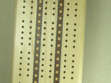 Wood Inlaid Cribbage Board American Maple