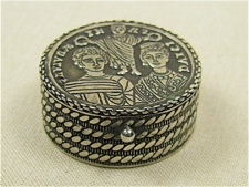 Byzantine Sterling Box - Handcrafted in Turkey