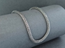 Chain, Sterling Foxtail 22in