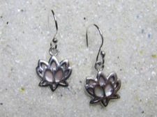 Lotus Shell Earrings