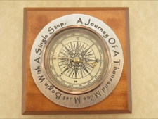 Compass - Handcrafted in Pewter and Made in America
