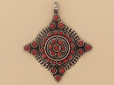 Mountain Coral Pendant