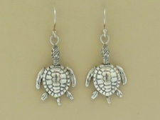 Sterling Turtle Dangles