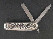 Sterling Silver Victorinox Swiss Army Officer's Knife