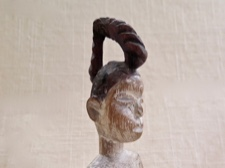 Ewe Tribe, Togo Venavi Carved Doll for Protection