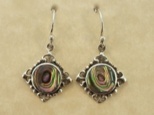 Ornate Abalone Dangle