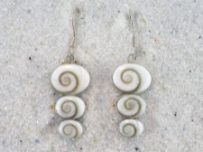 Shiva Shell Earrings