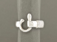 St John Hook Ring 6mm