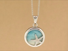 Larimar Sterling Starfish