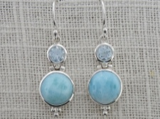 Larimar and Blue Topaz